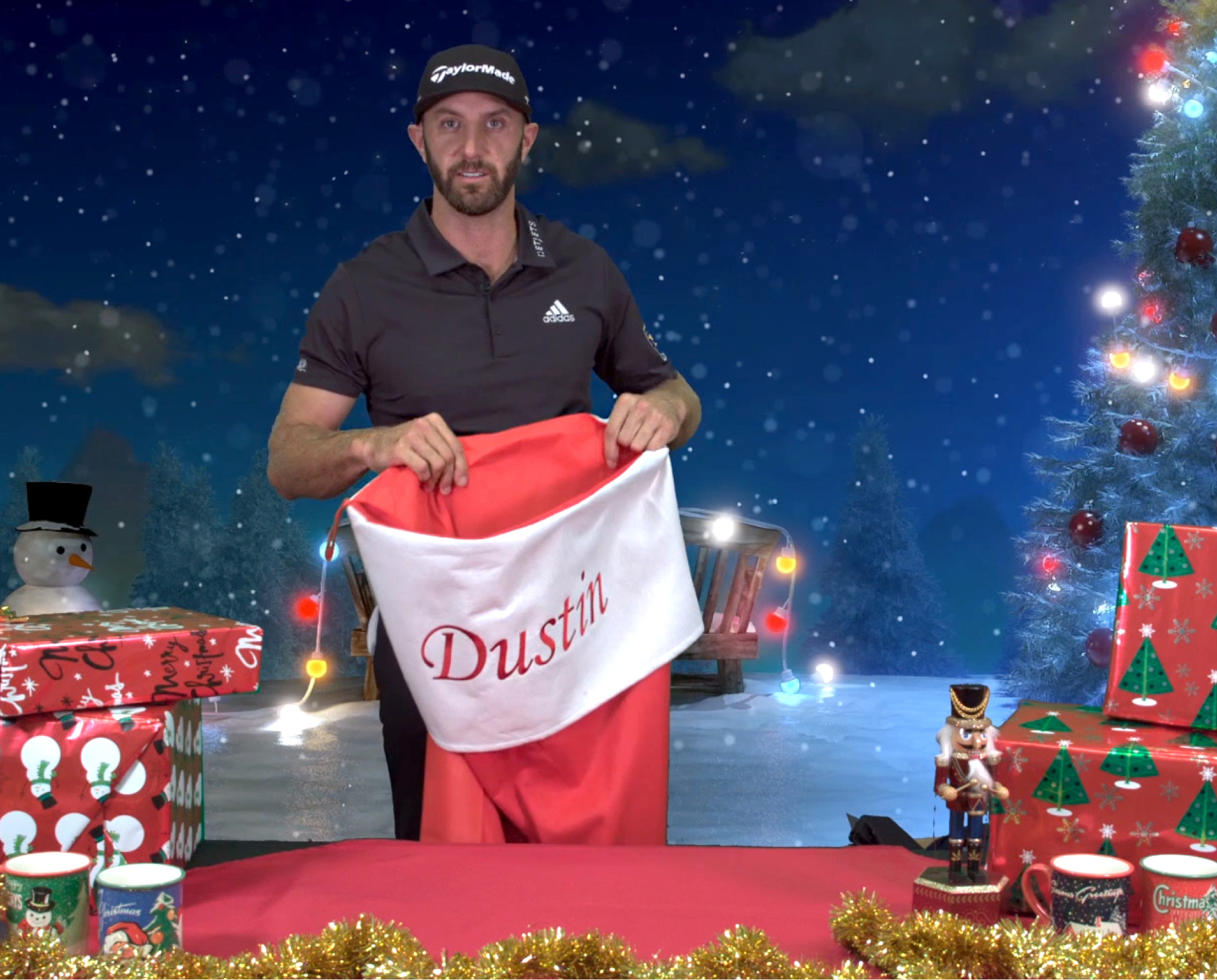 Dustin Johnson Stocking