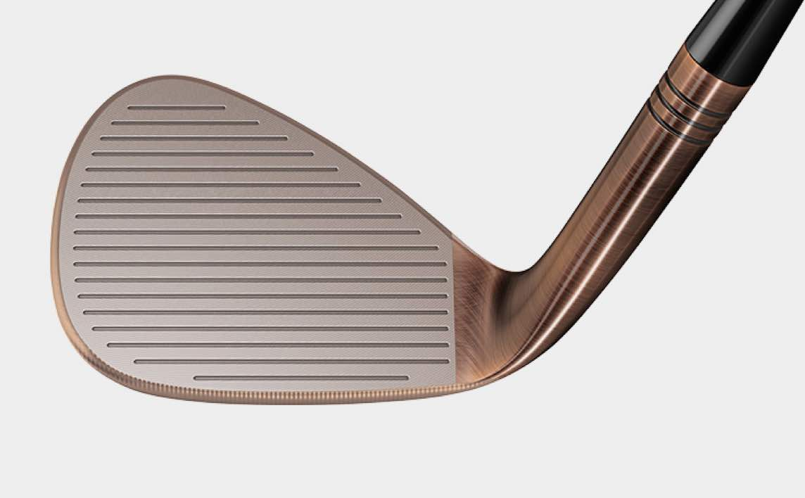 Milled Grind Hi-Toe Big Foot Wedge Face